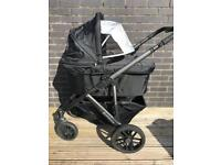 Uppababy Vista complete travel system in Jake Black in great condition!