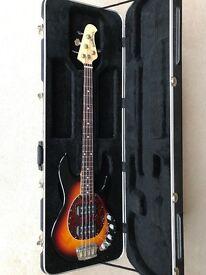 Musicman Stingray 4 HH bass guitar - immaculate!!