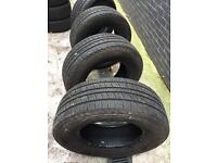 255/65/r16 like new Part worn tyres