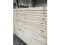 Panel fencing £25