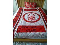 Nottingham Forest Vintage Single Duvet Cover and Pillowcase
