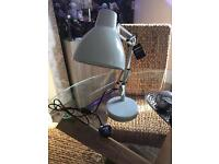 Brand new duck egg desk lamp with tags