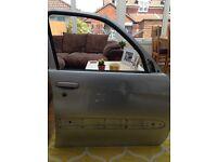 Driver Door for Citroen Picasso 2008 Silver (code EZRC)