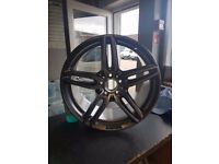 "Genuine Mercedes E Class AMG Diamond Cut 19"" Alloy Wheel 3"