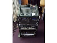 Full PA System - with lights and lots of extras