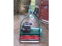WEBB 24 INCH ELECTRIC START PETROL MOWER SELF PROPELLED