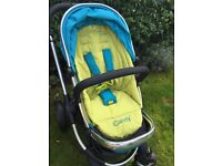 iCandy Peach buggy & carrycot - Sweetpea