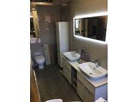 Ex Display Rhoper rhodes bathroom suite RRP £3066.00
