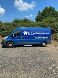 Ex Army Clearance Services, Man and a van