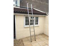 Aluminium 11 rung ladder ideal loft ladder