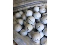 50 taylormade tour preferred golf balls in agrade mint condition.£40 or 100 for £75