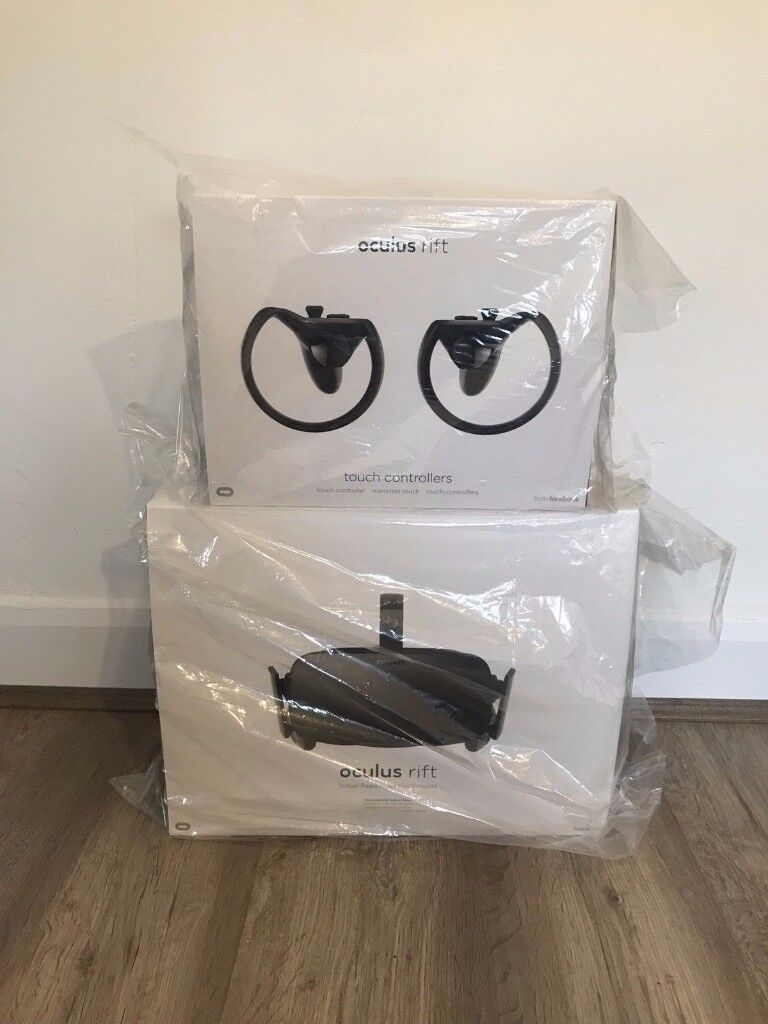 Oculus Rift CV1 & Touch Controllers - BRAND NEW - VR - Full virtual reality experience at home