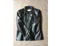Ladies/Girls Leather Jacket. Zip Up. Size 14.