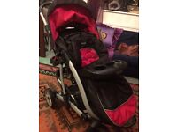 Graco Stroller with Comfort Tracker