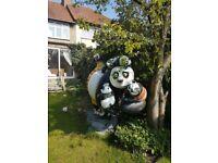 Big kungfu panda 2,5 meter high .