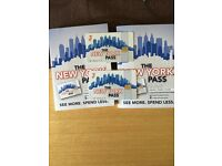 Two 3 day New York Pass