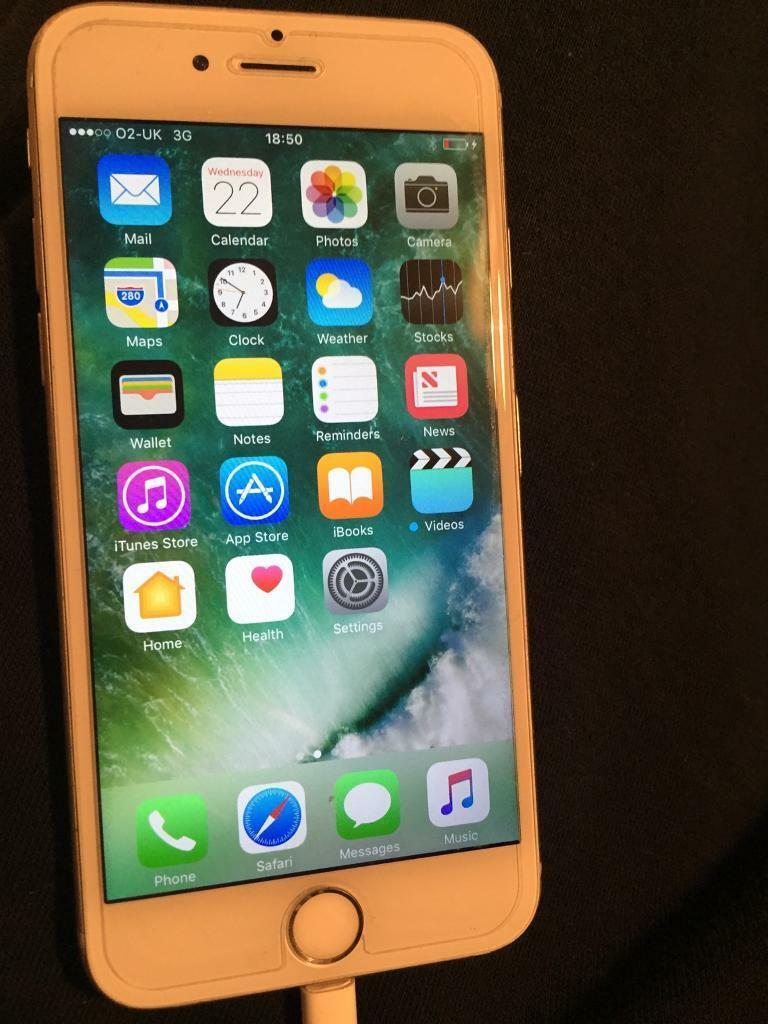 iPhone 6s silver 16gb on 02in Whitechapel, LondonGumtree - iPhone 6s silver 16gb on 02 used in good condition there is few marks on back case with box and charger