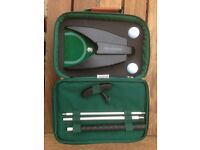 Brookstone Travel Putting Set. GREAT FATHER'S DAY PRESENT!!