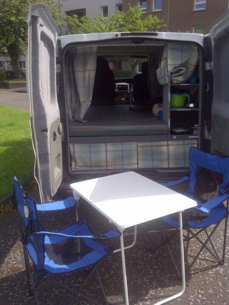 Vauxhall Vivaro, Camper van/Day van, Stand alone awning ...
