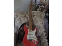 Squier Silver Series Stratocaster (made in Japan)
