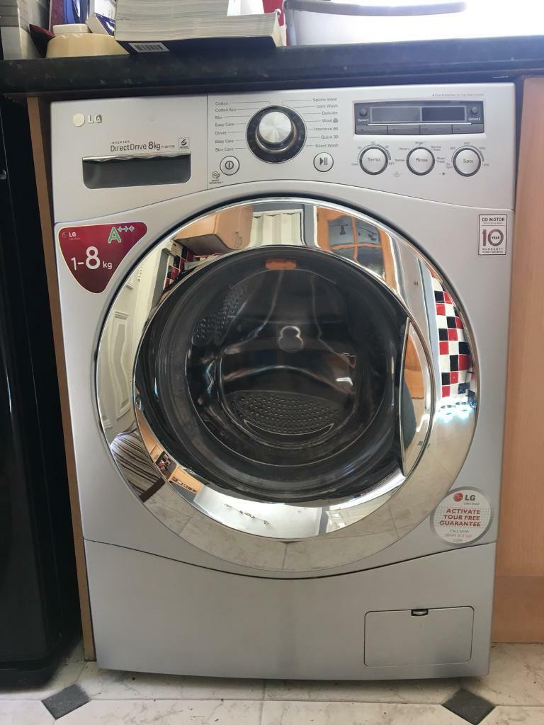 Washing Machine Lg Direct Drive 8kg 1400 Spin In Irvine North