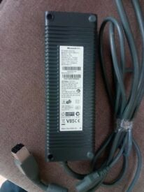 xbox 360 slim power pack and cable