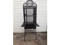 Bird cage for small breed birds.
