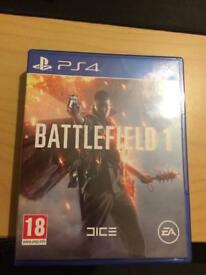 Battlefield 1 PS4 Perfect Condition