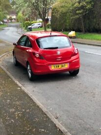 57 Plate Vauxhall Corsa, 1.2. Low Mileage, Full Service History.