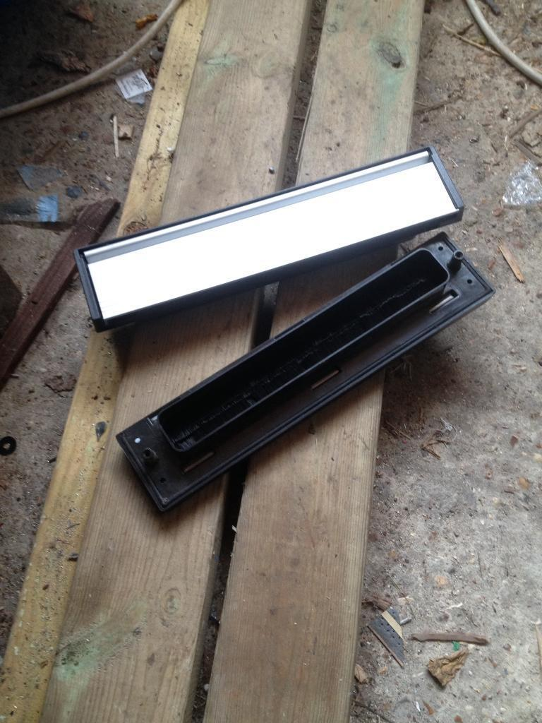 Letter boxes for pvcu doors
