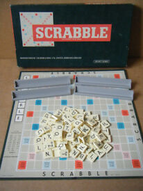 (Scrabble) word board game. By Spears Games 1983. Excellent & complete.