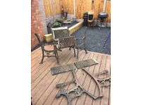 Reclaimed Unique Golf Cast Iron Garden Furniture