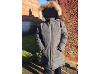 Unisex coat and men jacket you can buy both for £100. Just used twiece. Very warm, waterproof.