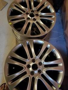 BRAND NEW NEVER MOUNTED LINCOLN MKZ FACTORY OEM  18 INCH ALLOY WHEEL SET OF FOUR.  NO SENSORS. NO CENTER CAPS