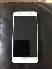 White Samsung galaxy a3 2016 on 02 network