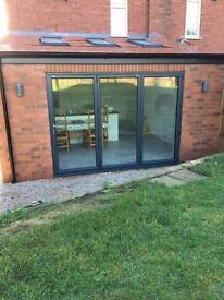 Aluminium & PVCu windows, doors, bifolds etc