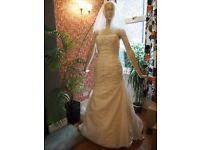 La Sposa wedding dress sz10