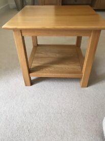 New Oak Coffee Table with Shelf