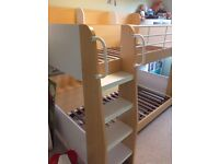 VGC JULIAN BOWEN DOMINO 3FT BUNK BEDS LOOK DISMANTLED READY TO GO