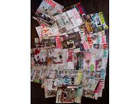 60 copies of Living Etc magazine