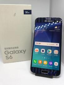 Samsung S6 Blue Unlocked Boxed