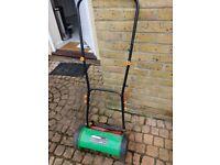 Lawnmower. Lightweight, hardly used.