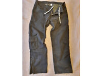"Bull It Cargo Laser4 Mens Motorcycle Trousers Black Regular 36"" Waist Bull-It Covec Jeans"