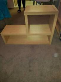 front room shelving
