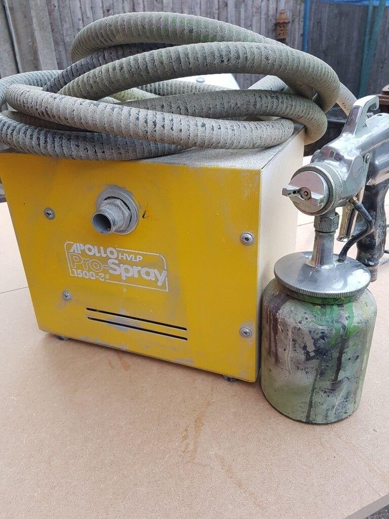 Apollo 1500 hvlp,110volts,hvlp turbine,paint sprayer,pro-spray 1500.