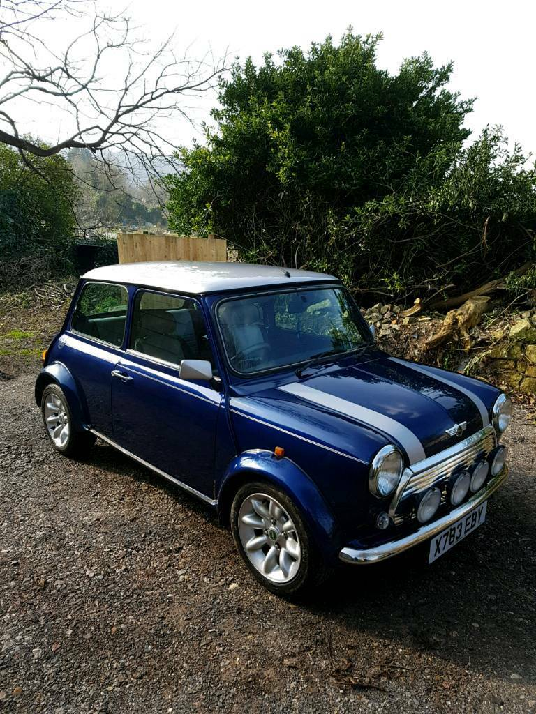 2000 Rover Mini Cooper Sportspack Tahiti Blue In Bath Somerset