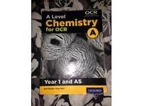 OCR AS level Chemistry Revision book