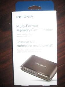 Insignia USB Multi Format Memory SD Card Reader. Digital /SLR Camera / Camcorder / Nikon / Canon Computer / Macbook. NEW