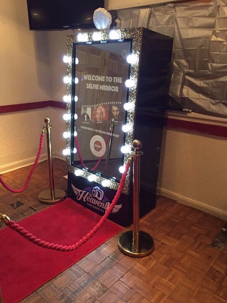 Magic Mirror Photobooth Selfie Mirror Photo Booth