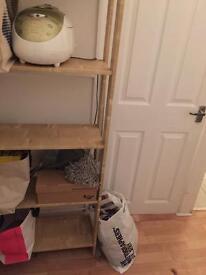 Study 5 levels wooden shelf